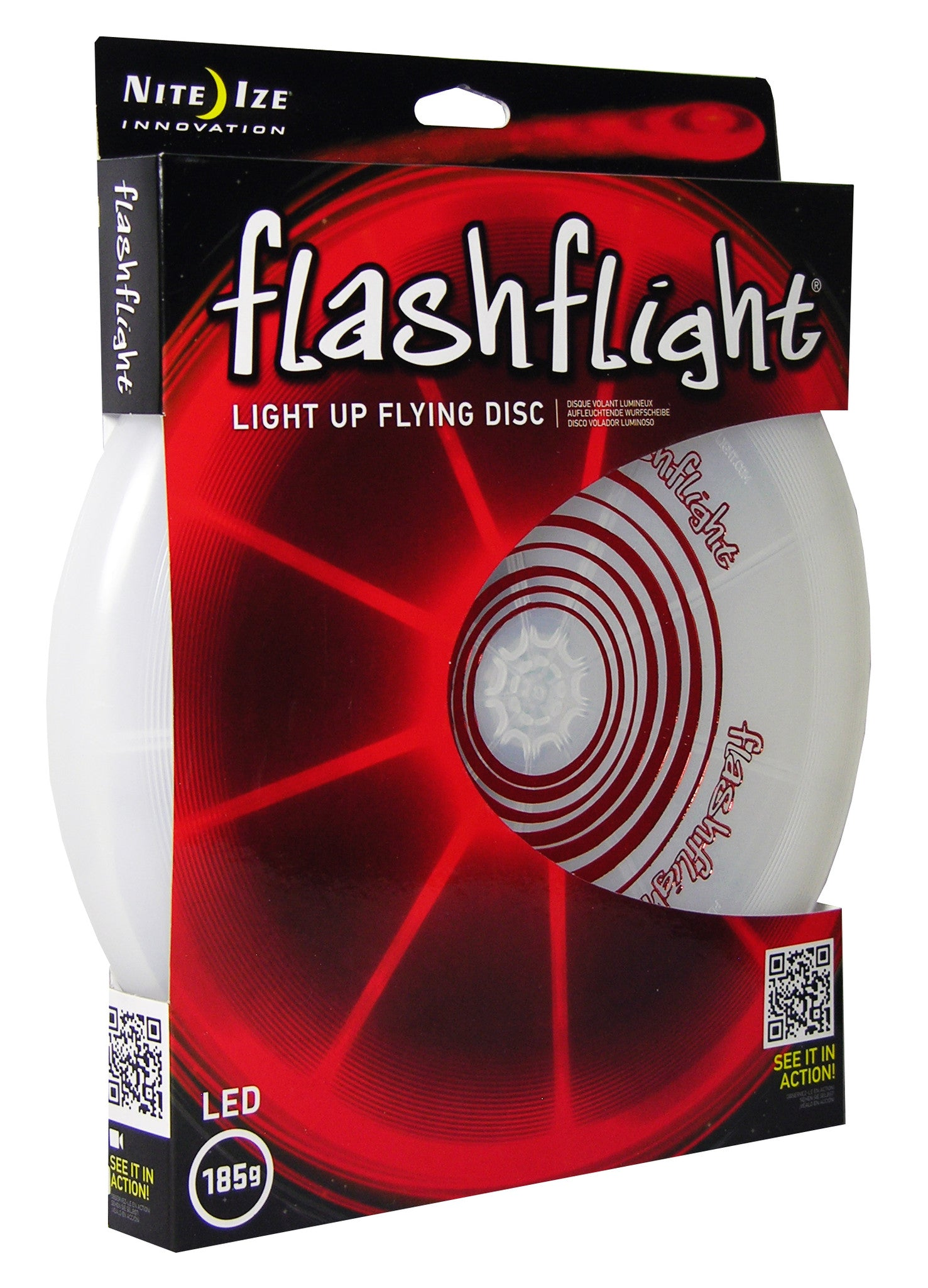 Flashflight LED Light-Up Flying Disc - Flashflight.com - 6