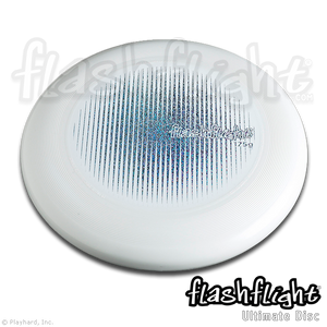 Flashflight Ultimate Disc 'White with Holographic Design'