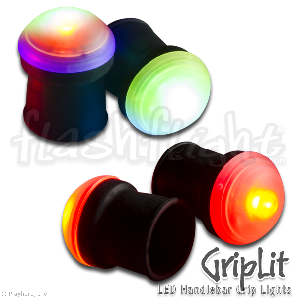 GripLit LED Handlebar Lights - Flashflight.com - 1