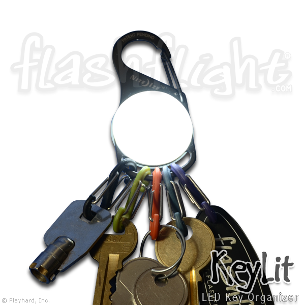 KeyLit LED Keychain Light - Flashflight.com - 1