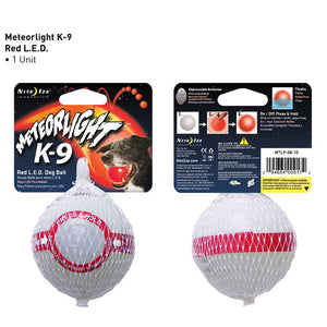 MeteorLight LED Light-Up Flashflight Ball 'Disc-O Select'