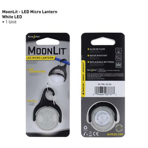 Moonlit Micro LED Light-Up Swivel Carabiner Lights