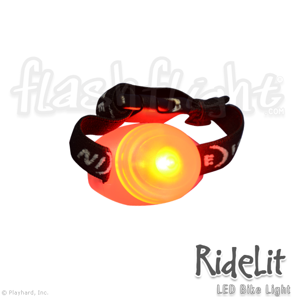 RideLit LED Bike Light - Flashflight.com - 1