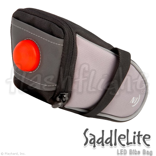 SaddleLite LED Bike Bag - Flashflight.com - 1