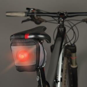 SaddleLite LED Bike Bag - Flashflight.com - 2