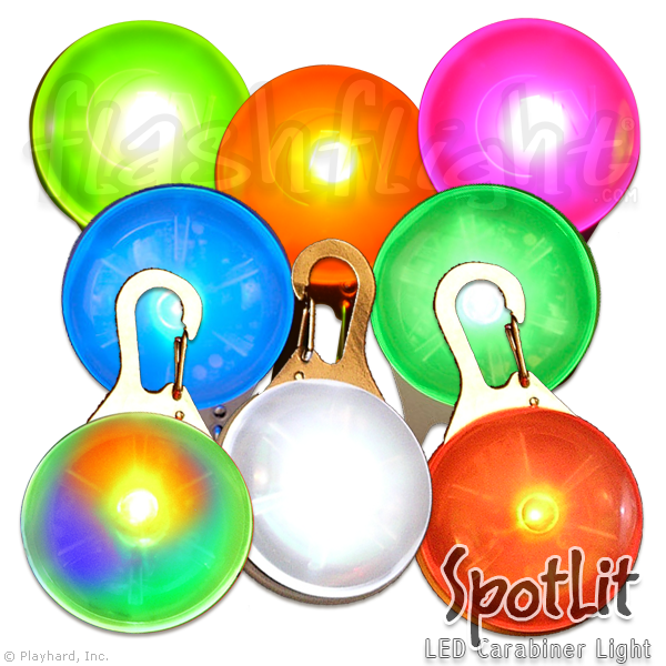 Spotlit LED Light - Flashflight.com - 1