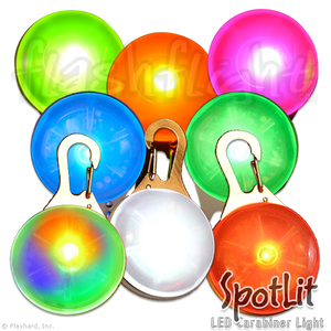 Spotlit LED Light-Up Spot Light 'Disc-O'
