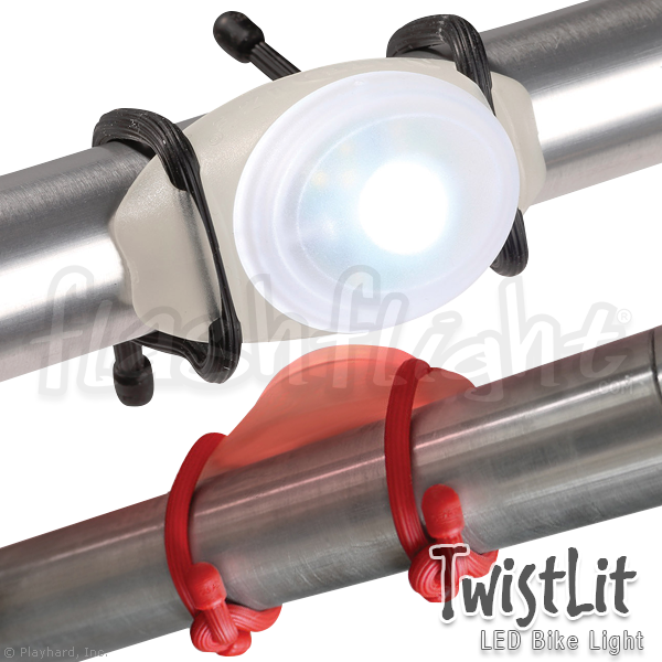 TwistLit LED Bike Light - Flashflight.com - 1