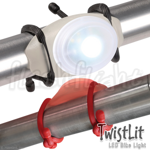 TwistLit LED Light-Up Bike Light 'White' 'Red'