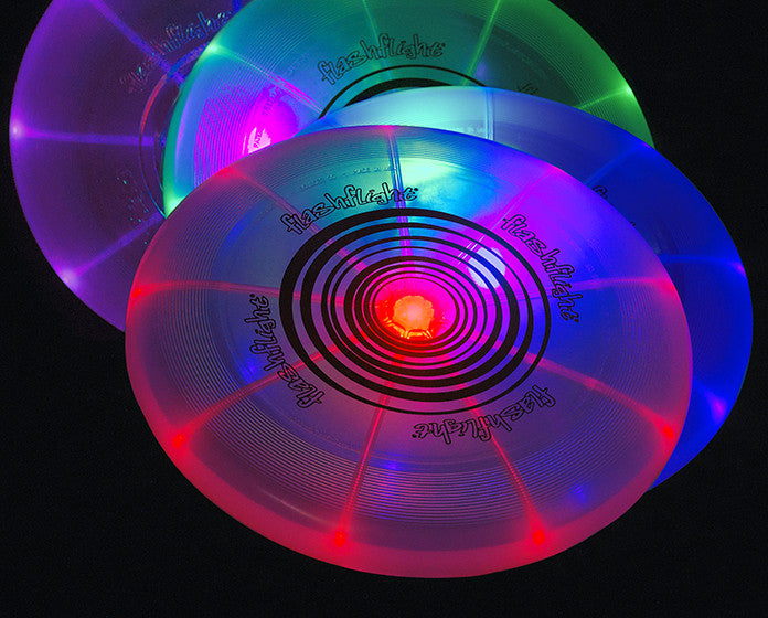 Flashflight LED Flying Discs