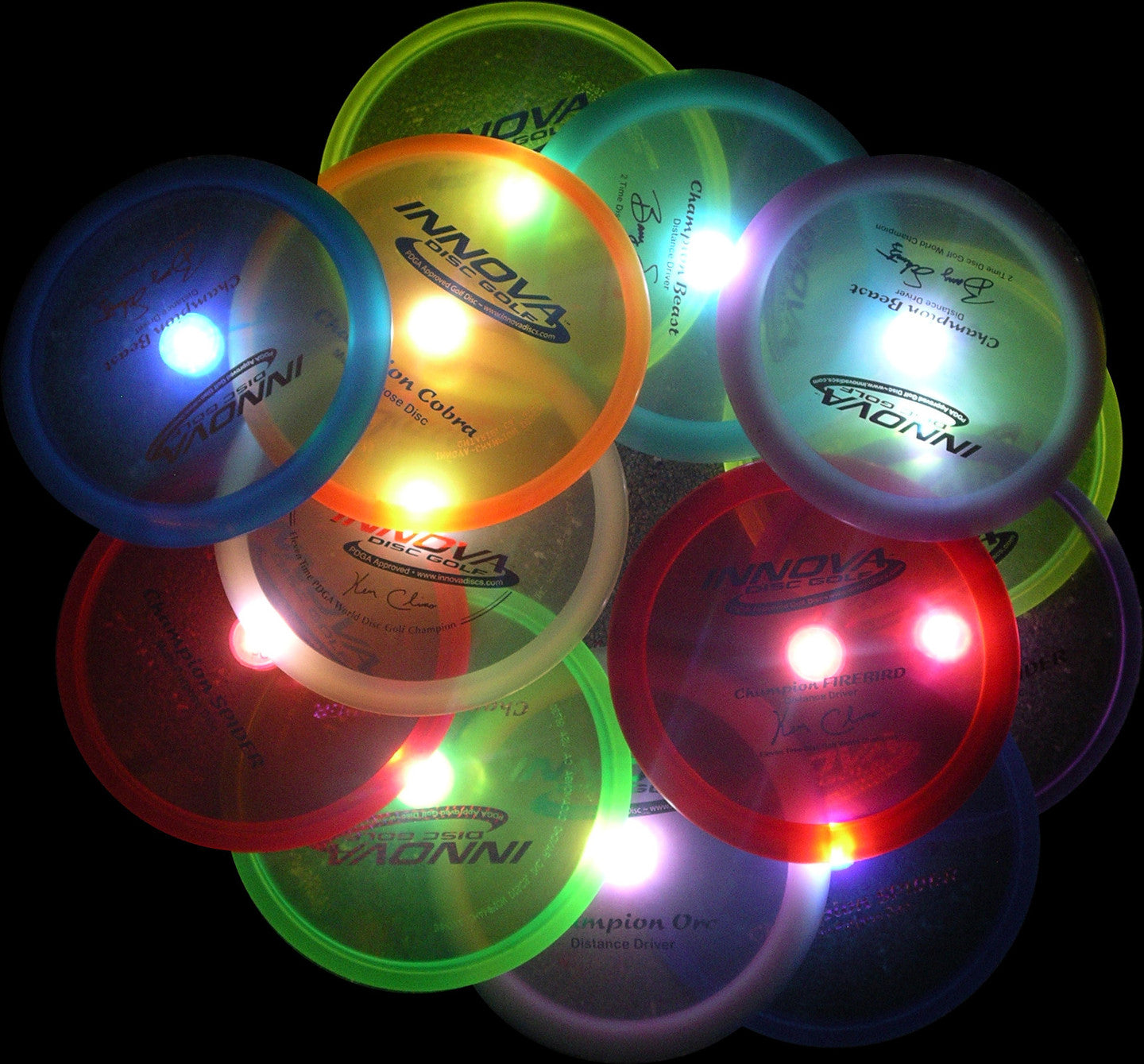 LED Golf Disc Light