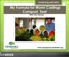 How to Make Worm Compost Tea Training Digital Download