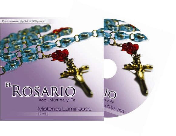 CD del Rosario Misterios Luminosos