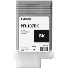 Canon 130ml PFI-107BK Ink Tank Cartridge (MPN: 6705B001AA)