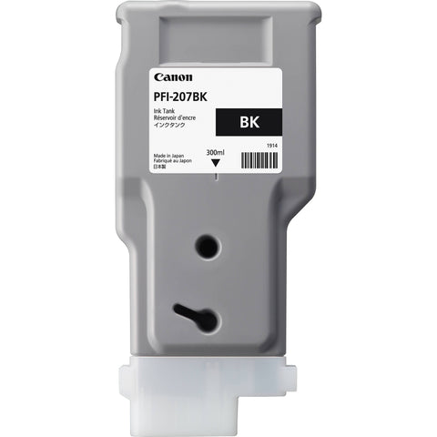 Canon 300ml PFI-207BK Ink Tank Cartridge (MPN: 8789B001AA)