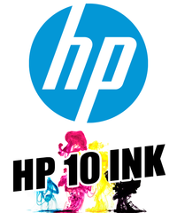 HP 10 Black Ink Cartridge (69 ml)