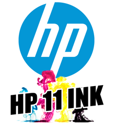 HP 11 Cyan Dye Ink Cartridge (28 ml)