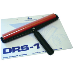 Drytac DRS Roller and PCR Pad. DRS 12 inch red roller for rigid substrates. DRS roller cleaning pad ordered separately (MPN: ACC9050)