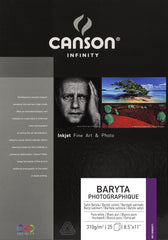 Canson Baryta Photographique II - 310gsm