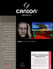Canson Photo HighGloss Premium RC - 315gsm