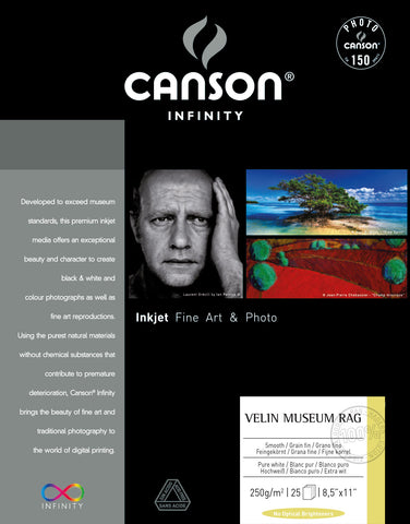 Canson Velin Museum Rag - 250gsm