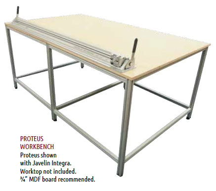 Foster Keencut Proteus Work Bench Only* (worktop not included)
