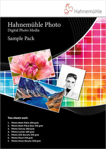 Hahnemuhle Photo Sample Pack (MPN: 10640888)