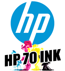 HP 70 Gloss Enhancer Ink Cartridge