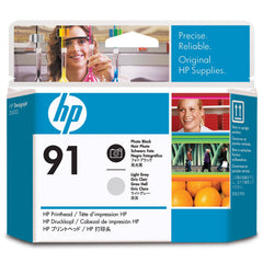 HP Print Head - Photo Black and Light Gray (MPN: C9463A)