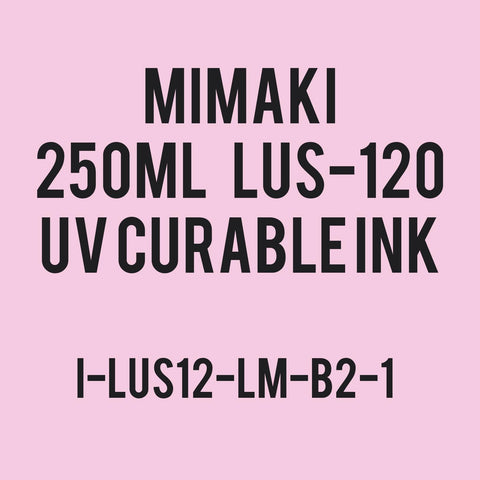 Mimaki UV Curable Ink LUS-120