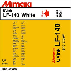 Mimaki LF-140 ink  White 600ml (MPN: SPC-0278W)