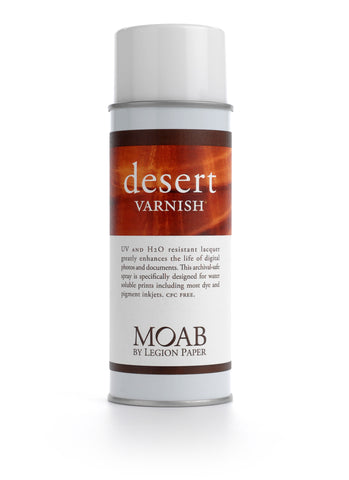 Moab Desert Varnish Spray (MPN: M66-DVS400)