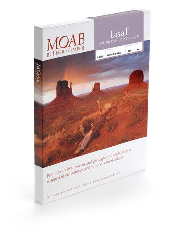 Moab Lasal Exhibition Luster 300