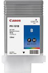 Canon 130mL Blue Ink Tank Cartridge - PFI-101B