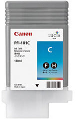 Canon 130mL Cyan Ink Tank Cartridge - PFI-101C (MPN: 0884B001AA)