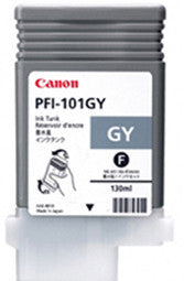 Canon PFI-101GY Ink Tank Cartridge