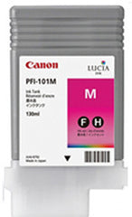 Canon 130mL Magenta Ink Tank Cartridge - PFI-101M (MPN: 0885B001AA)