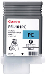 Canon 130mL Cyan Ink Tank Cartridge - PFI-101PC (MPN: 0887B001AA)