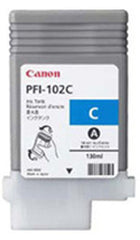 Canon 130mL Cyan Ink Tank Cartridge - PFI-102C (MPN: 0896B001AA)