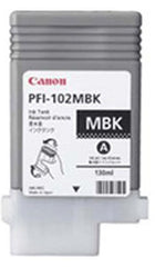 Canon 130mL Matte Black Ink Tank Cartridge - PFI-102MBK (MPN: 0894B001AA)