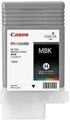 Canon 130mL Matte Black Ink Tank Cartridge - PFI-103MBK (MPN: PFI-103MBK)