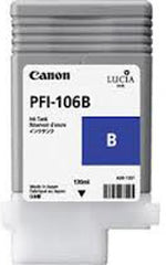 Canon 130mL Blue Ink Tank Cartridge - PFI-106B (MPN: 6629B001AA)