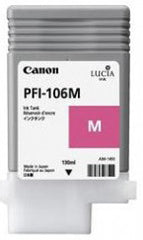 Canon 130mL Magenta Ink Tank Cartridge - PFI-106M (MPN: 6623B001AA)