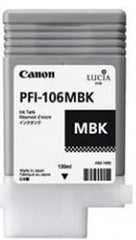 Canon 130mL Matte Black Ink Tank Cartridge - PFI-106MBK (MPN: 6620B001AA)