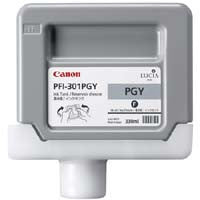 Canon 330mL Gray Ink Tank Cartridge - PFI-302PGY (MPN: PFI-302PGY)