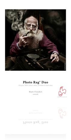 Hahnemuhle Photo Rag Duo 276gsm - Sheets