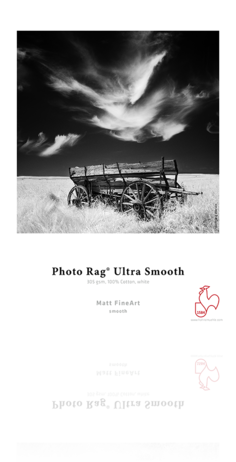 Hahnemuhle Photo Rag Ultra Smooth 305 gsm - Roll