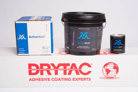 Drytac ActiveWall Micro-Iron Latex Primer Water-based, Micro-Iron latex primer for use with VM-InvisiLock-40HE and VM-InvisiLock-40HP
