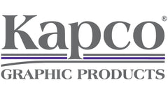 Kapco 10 mil PSA Gloss White Rigid Vinyl Backer - 1.2 mil Polyester Liner.