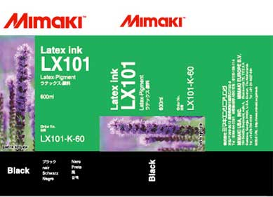Mimaki LX-101 Latex Black ink 600ml (MPN: LX101-K-60)
